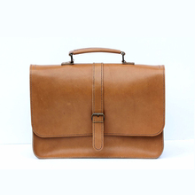 1LT0052 Genuine Hand Stitched Leather Laptop Bag New Updated Cheap Laptop Bag Genuine Leather