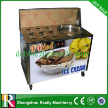 Hot sale fried ice maker fried ice cream machine for sale