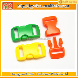 fashion plastic bag buckle,paracord buckle,small bracelet buckle
