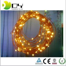 Battery operated Christmas Lights Wholesale Item Fairy light flexible customzied mini led copper wire string lights