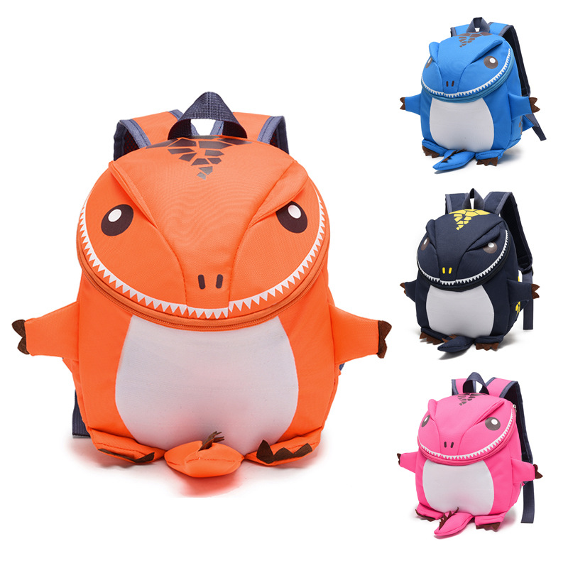 2017 outdoor child kids school backpack bag custom fashion mini children baby cute 3d zoo cartton animal backpack