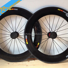 Hot 700c carbon wheelset china matte or glossy road bike wheelset carbon fiber