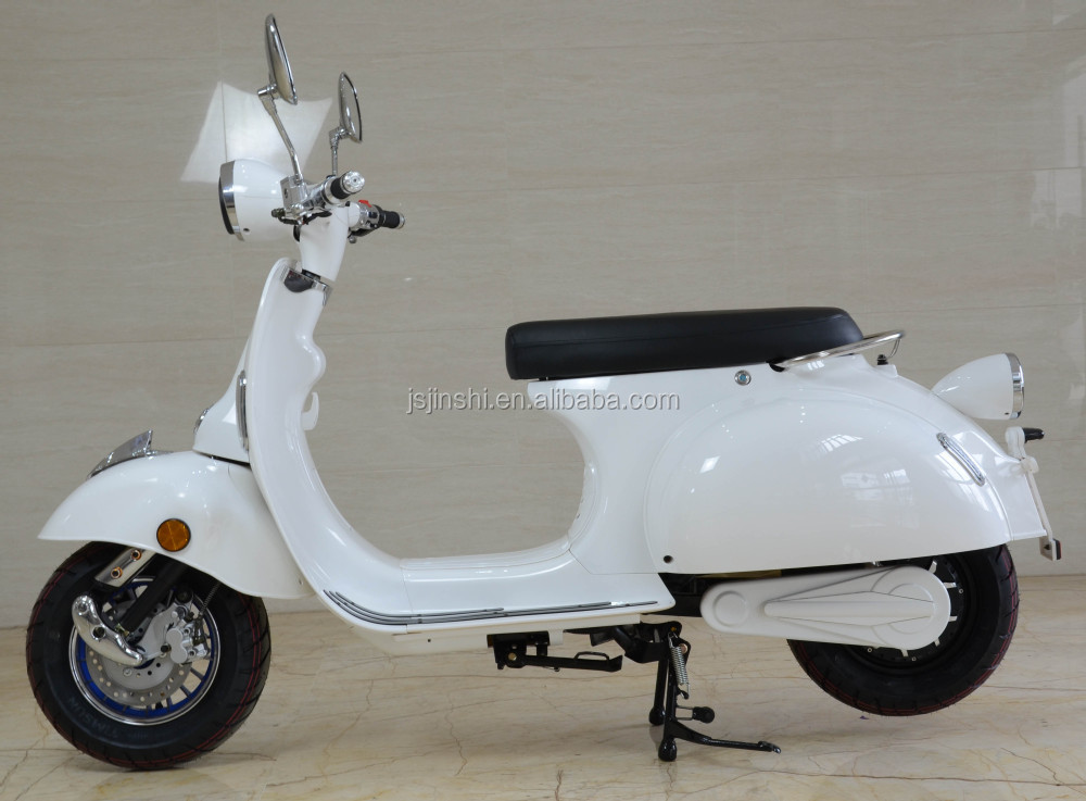 Lithium baterry power retro electric scooter vespa