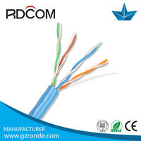 utp network cable 4 pairs 24awg cat5 6 cable