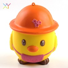 Cute Squeeze Stress Stretch Squishy, Slow Rising Squishy Chicken Toy for Kids