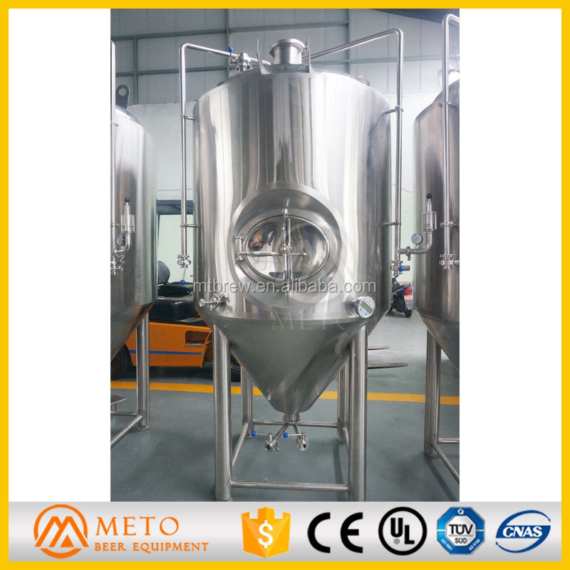 Used beer brewing facility,beer fermenting tank