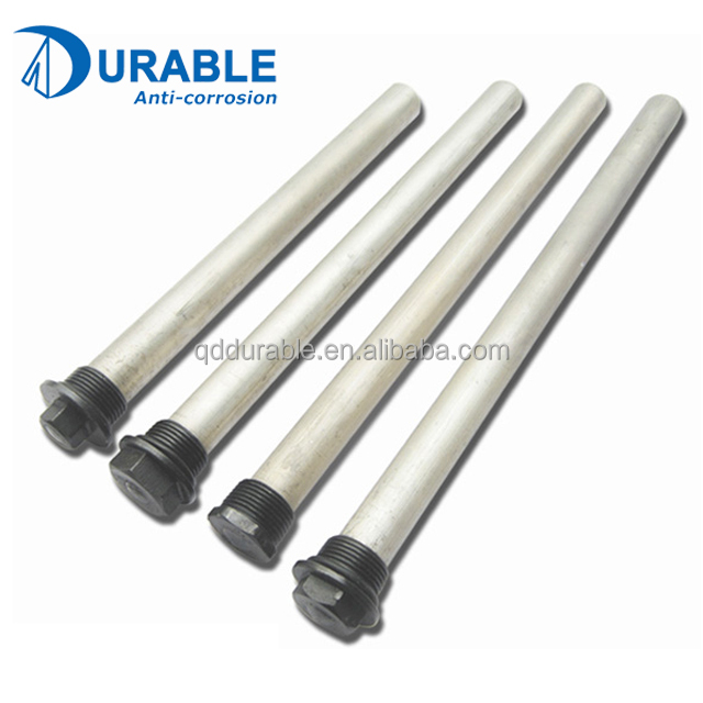 High Quality Pure Extruded magnesium rod water heater spare parts
