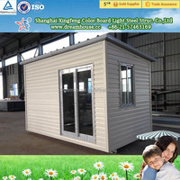 China easy to practical sandwich panel prefab house camp tiny house/ flexible designs modular home prefabricated house