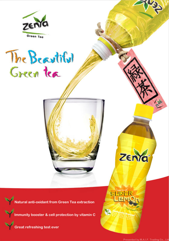 ZENYA Green Tea Super Lemon
