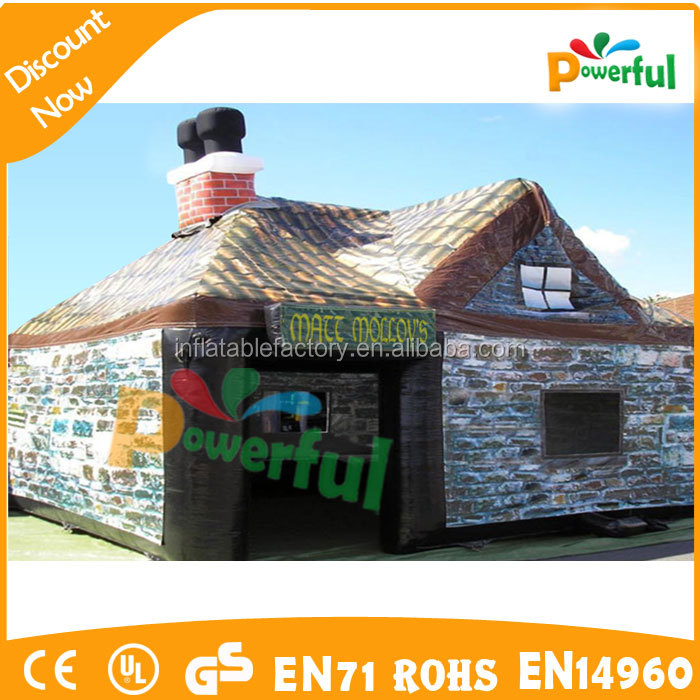Inflatable warehouse/ mobile outdoor event tent/ house tent structure