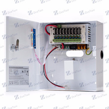 Baku Power Supply 12V 5A 9 Channels Emergency Switching Power Supply