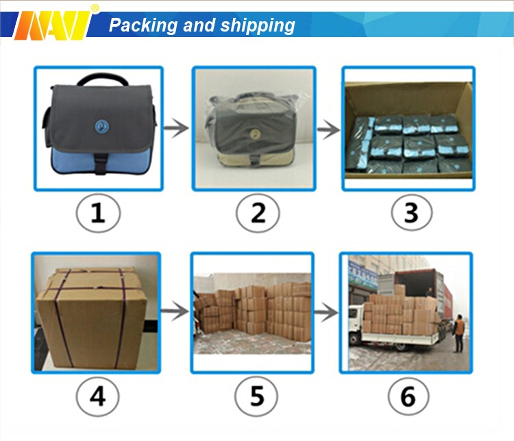 4pcs Value Set nylon waterproof Travel Organizer Packing Cubes