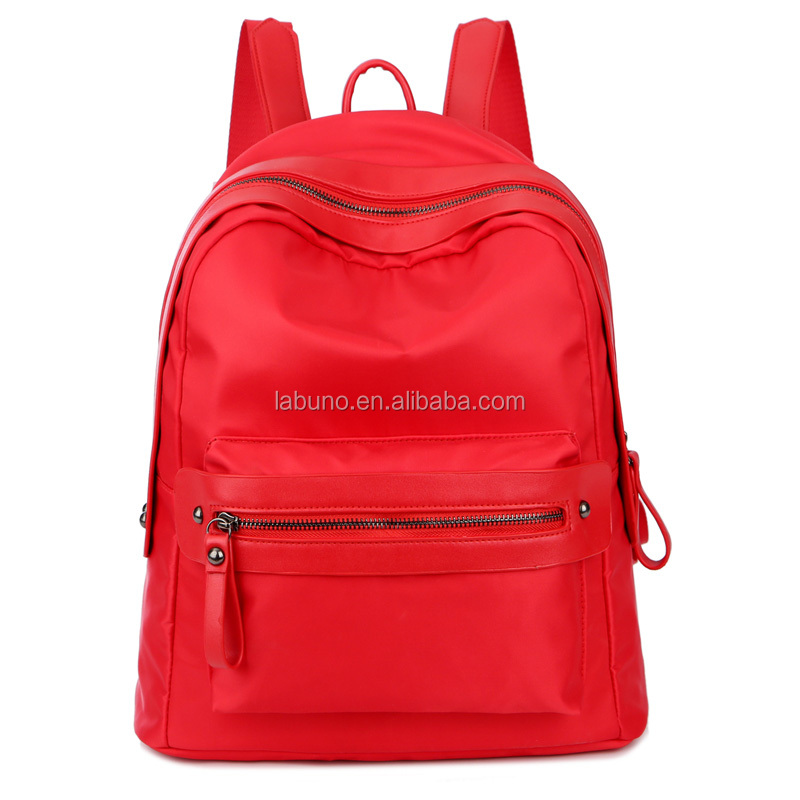 China factory wholesale fashion canvas <strong>backpack</strong>