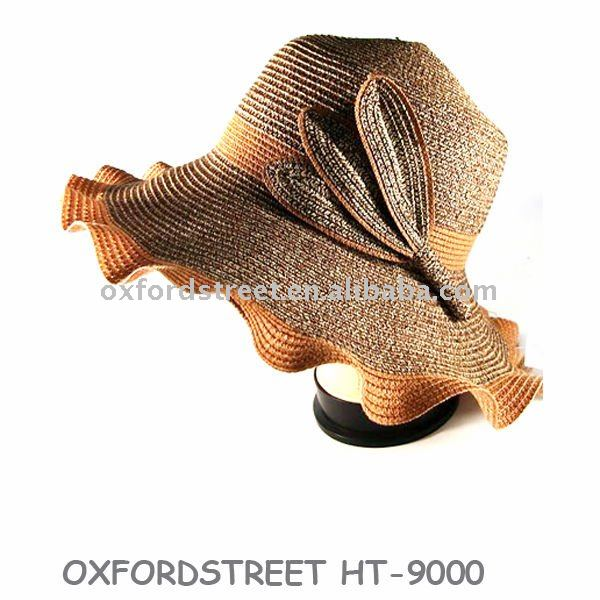 HT-9000 Fashion lady sun hat/straw hat