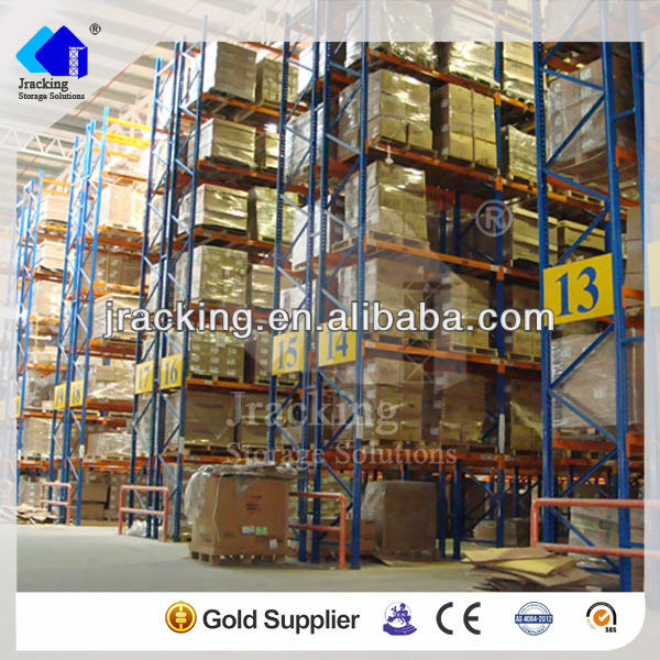 Sliding metal shelves,Industrial automation storage racking hot selling pallet racking
