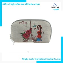 Cheap Promotional Photo Printing Cosmetic Cases Wholesale Fashion Makeup Bag for Womens
