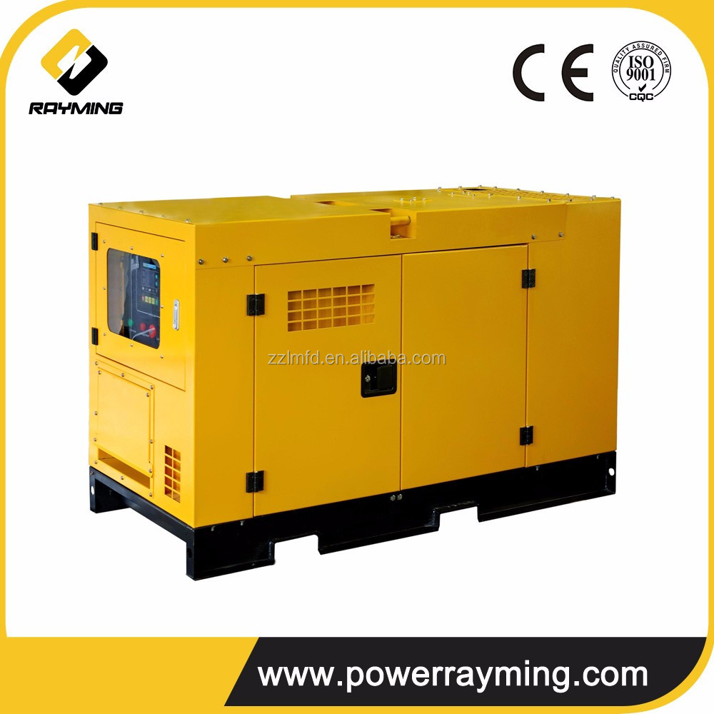 Super Silent Battery Powered Electric 30kw Diesel Generator Engine