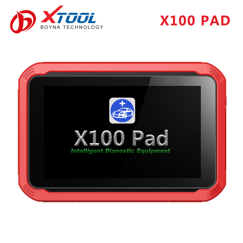 Eeprom car key programmer keyprogramming for toyota and oil resetting for volvo Xtool X100 Pad