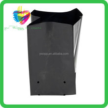 2017 trending products Black planting tree plastic nursery grow bags, plastic tree grow bags