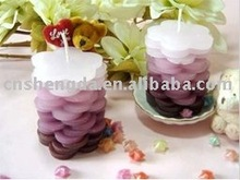 home decorative candles paffin wax buring art scented pillar candle