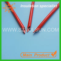 Solvent Resistant Fiberglass Braided Sleeving Red