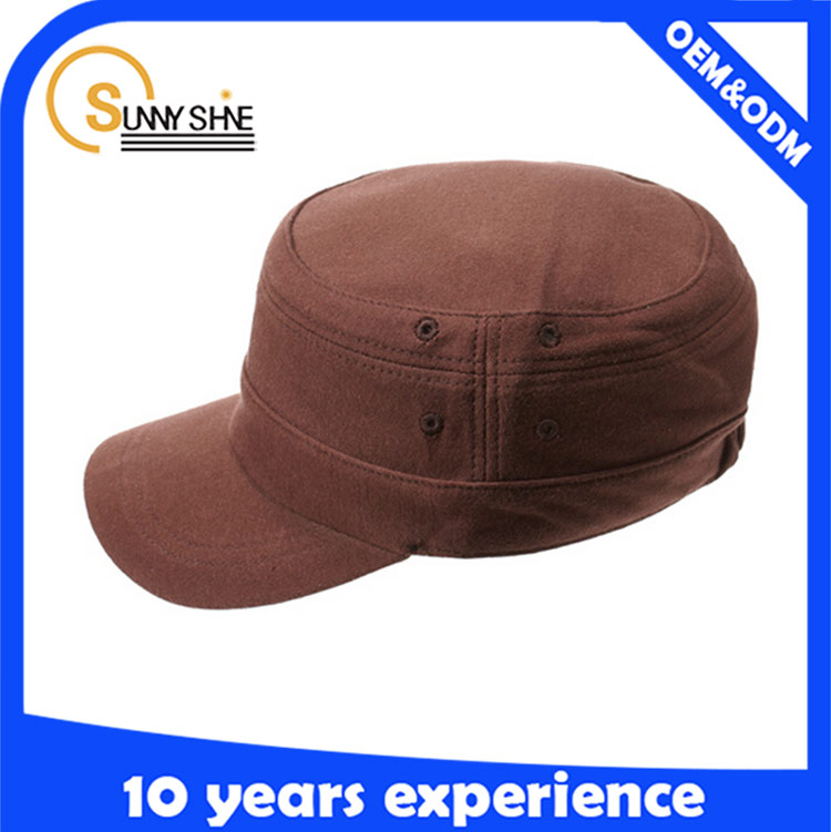 Sunny shine new style product hot sale high quality cheap custom logo military hat army caps