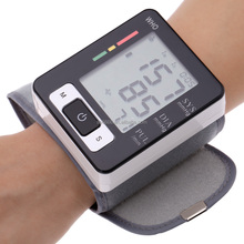 Automatic Digital Wrist Blood Pressure and Pulse Monitor Sphygmomanometer Blood Pressure Monitor For Health Care