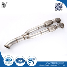 Exhaust pipe wholesale stainless steel bike exhaust system