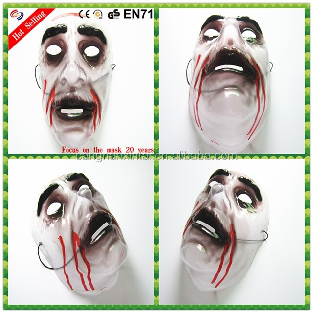 funny half face masks with big-nosed