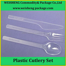 Wholesales Reusable Plastic cutlery set