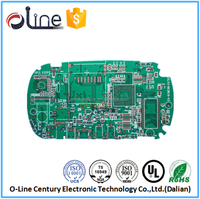 First class 6 Layer 94v-0 Gold plating cell phone pcb mainboard