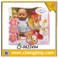 2013 most popular plastic lifelike newborn baby doll