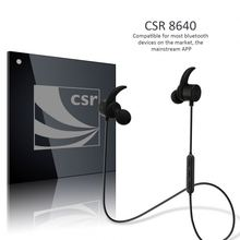 High end fashion stereo bluetooth earphone, high quality bluetooth headphone with multipoint function-Disnix DS2