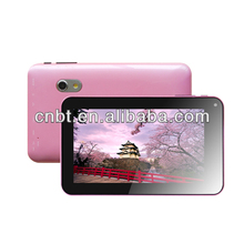 "7"" tablet android tablet with high resolution and Dual-Core Flash camera USB2.0 port ,HDMI output"