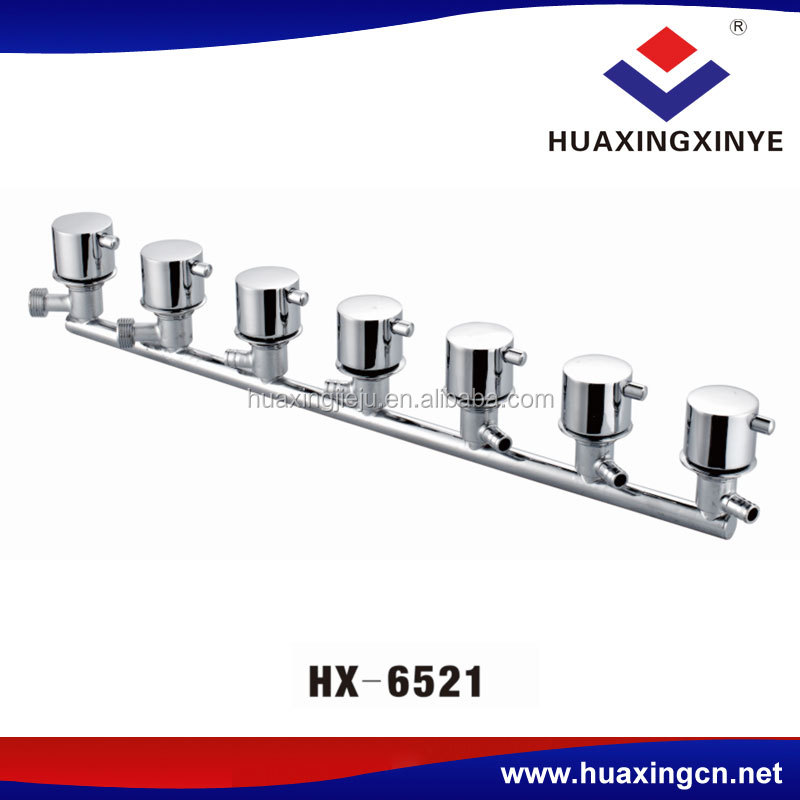 Manufacturer drouble shower faucet taps chrome HX-6521mixer wall mount tap