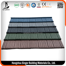 Stone Coated Aluminum Roofing/Stone Coated Steel Roofing/Colorful Stone Coated Steel Roof Tile For Sale