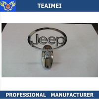 Promotional Chrome 3D Car Logo Stand up Car Emblem