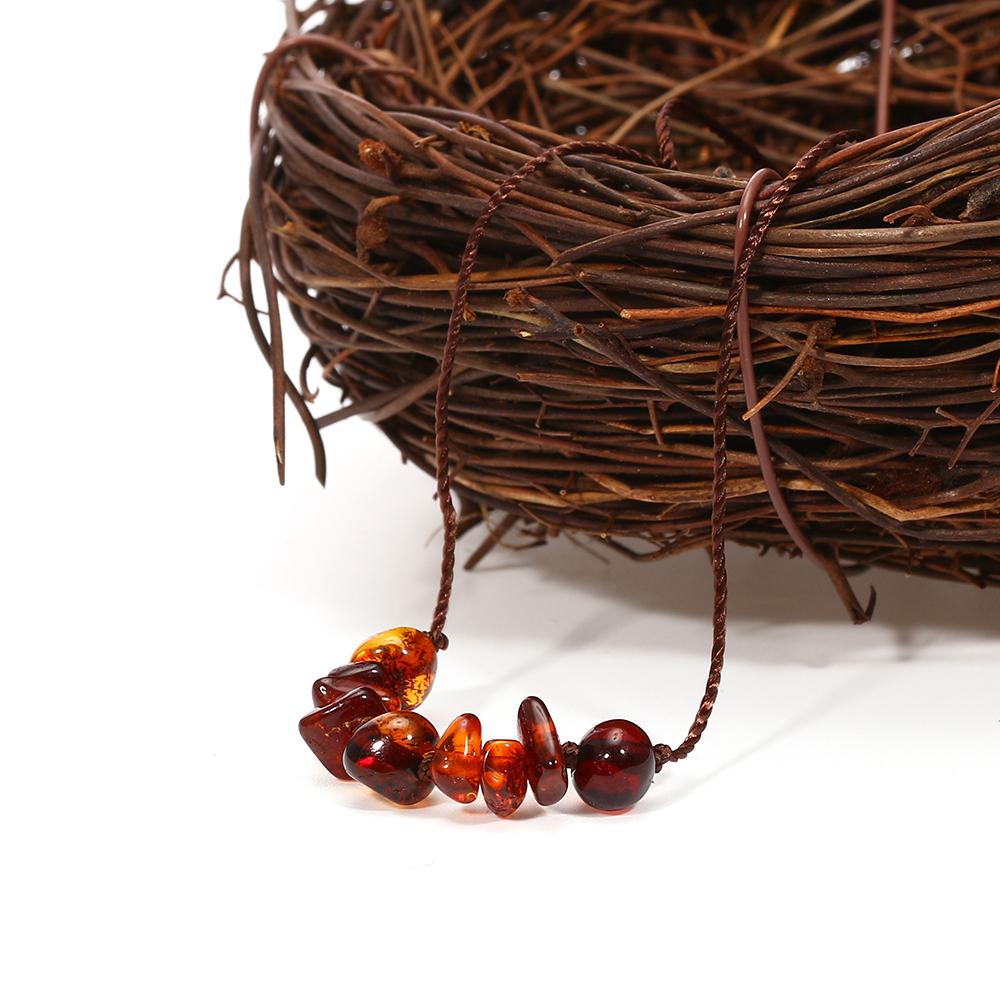 Natural amber jewelry birthday present