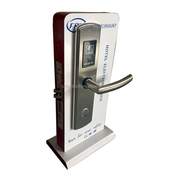FOX high qualtiy rf card hotel lock with pro usb card system
