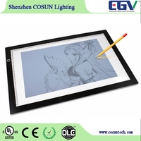 Ultra Thin LED Artcraft Tracing Light Pad A4 Light Box for Sketch Tattoo Design