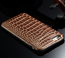 Crocodile skin shape bag stickers phone case cover for iPhone 6 s