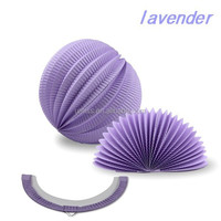 Hot selling Factory supply Party Decoration lavender Paper lanterns and Tissue Watermelon paper lantern for decoration