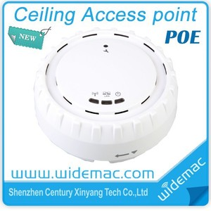 Wireless 802.11 n PoE Access Point Ceiling AP design (WD-7204)