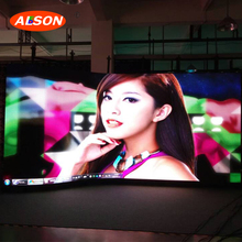 Full Color p3.91 Curved Outdoor Advertising LED Display Screen Prices for Stage Rental