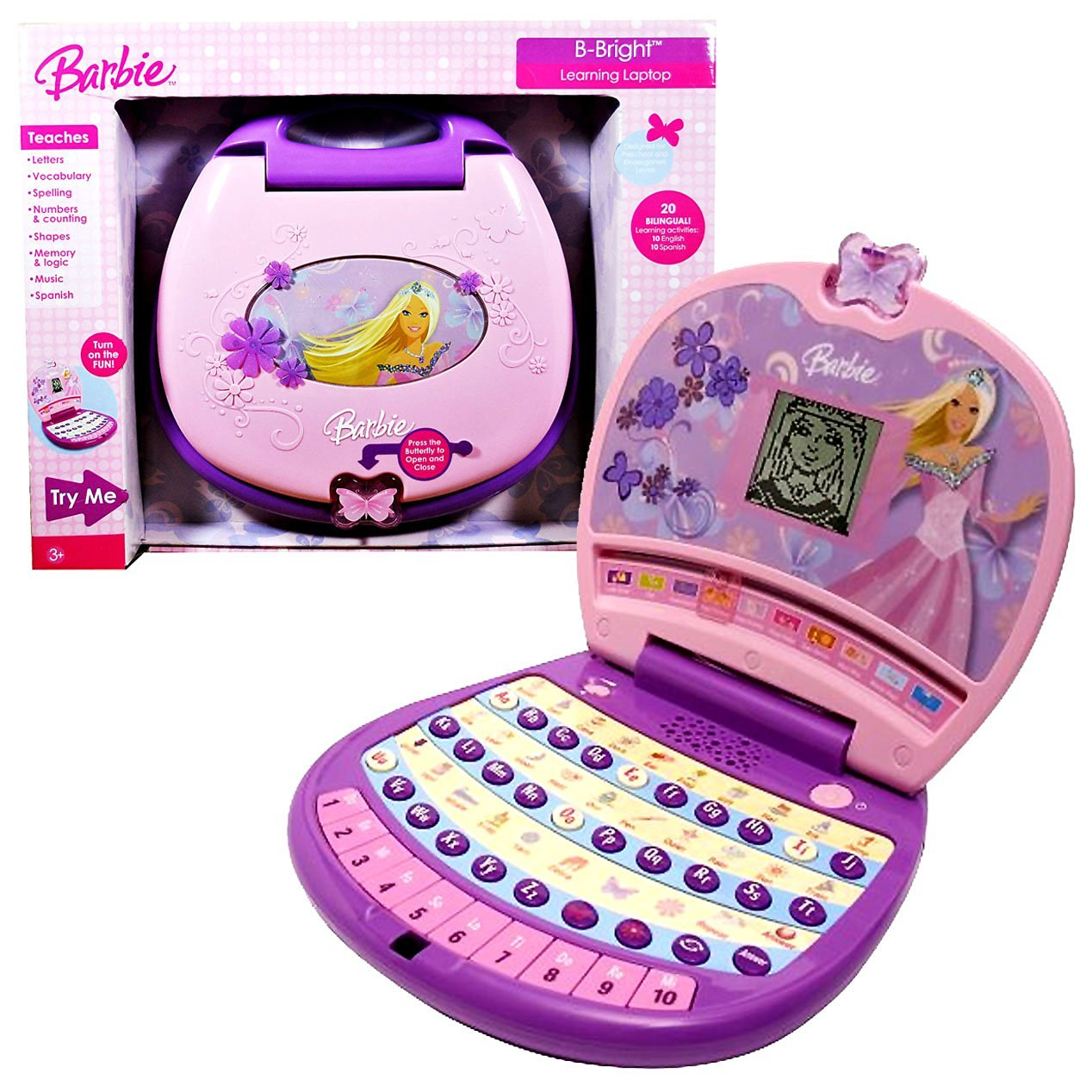 Oregon scientific barbie fashion tablet pink 40