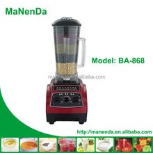 MaNenD heavy duty 2L commercial bar blenders in blender machine factory