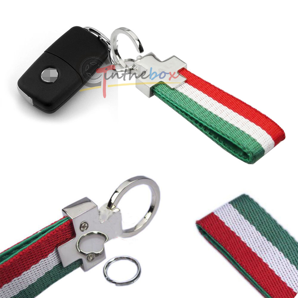Customized Itanian Flag Universal Key Ring Key Chains