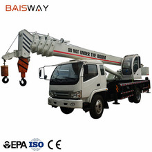 8ton truck crane with automobile,truck mounted crane for project