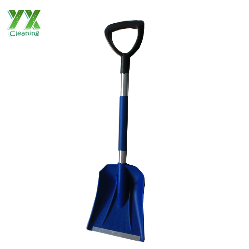 "34"" Heavy Duty Plastic Head And Steel Pole Heated Snow Shovel"