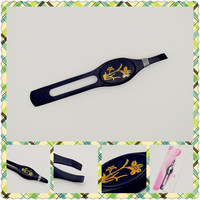 Nice package 2013 best design stainless steel eyebrow tweezers for wholesales